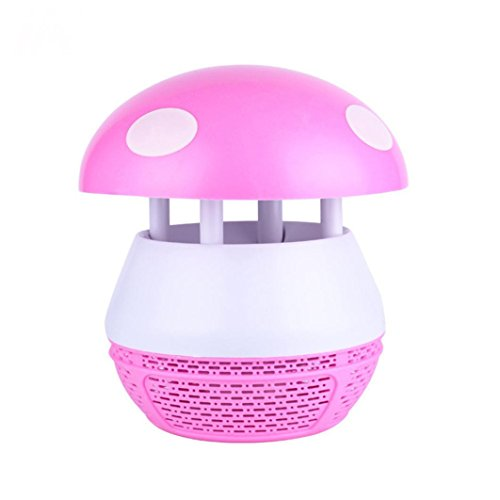 Cywulin Rechargeable Mosquito Killer Zapper UV LED Night Lig