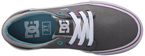 DC Shoes Trase TX - Zapatillas bajas para niña Grey/Grey/Blue