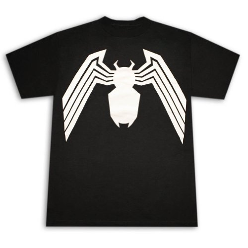 Spiderman Venom Suit T-shirt XX-Large Black