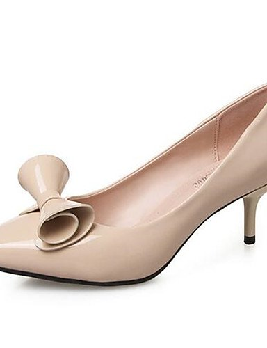 us8 cn38 uk6 Negro pink pink us8 5 eu39 eu38 pink ZQ Robusto Rojo Casual Tacones cn39 Zapatos de mujer uk5 us7 cn39 eu39 PU uk6 Rosa 5 Tacones Tac¨®n Almendra xOwz1qHxC