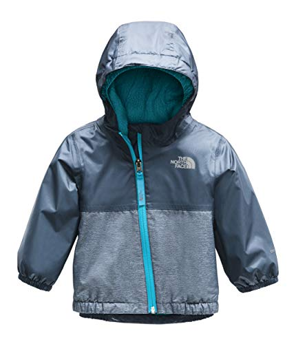The North Face Kids Unisex Warm Storm Jacket (Infant) Shady Blue 18-24 Months