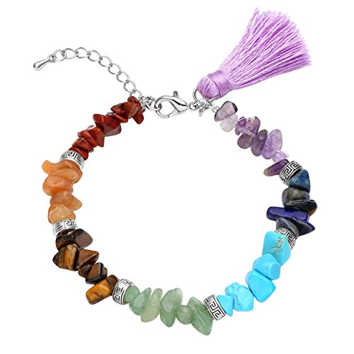 crystal chip bracelet - 2