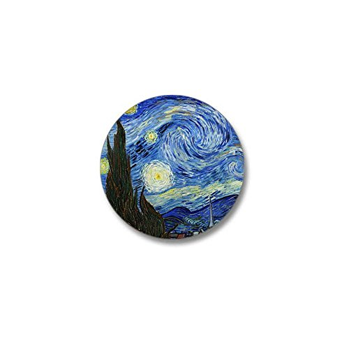 "CafePress Van Gogh Mini Button 1"" Round Mini Button"
