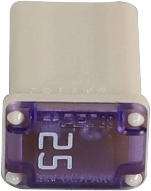6 Flosser 608825 25 Amp Micro Cartridge Fuses FMM MCASE Type