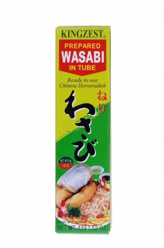 KINJIRUSHI Wasabi / Meerrettich Paste 43g HOT + SCHARF aus Japan