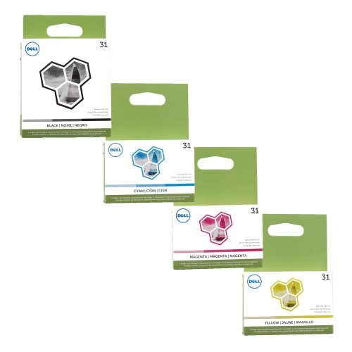 Dell Cartridges Retail Packaging Magenta