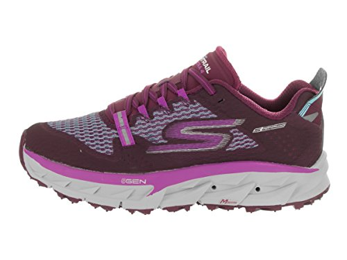 Skechers Dames Gaan Trail Ultra 4 Trainingsschoen Paars / Aqua