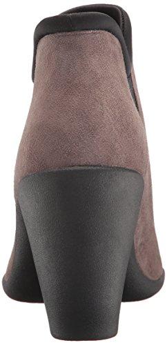 Clarks Womens Adya Bella Ankle Bootie, Grey Suede, 9.5 W US