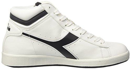 nero A High bianco Game Sneaker P Alto Collo Diadora Uomo Bianco I1vqf6wwx