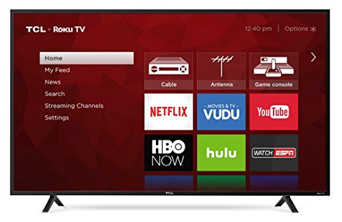 "TCL 55"" Class 4K (2160P) Roku Smart LED TV (55S401..."