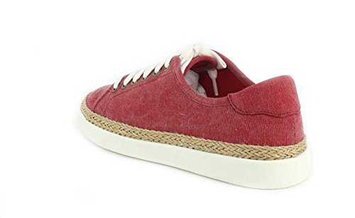 Vioic Sunny Hattie - Womens Canvas Sneaker Red