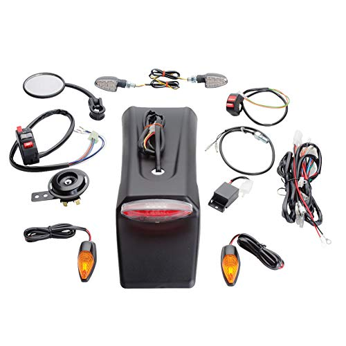 Tusk Enduro Street Legal Lighting/Horn/Mirror/Signals Kit - KTM 300 350 EXC-F XC-W XC-F XCF-W EXC 2009-2018