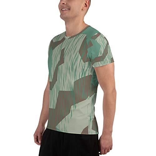 UpCrafts Studio Design Wehrmacht Shirt - Splinter Pattern WWII German Camo - WW2 Reenactment - German Ww2 Pattern