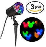 Disney Mickey Mouse Ears LightShow Swirling Multicolor LED Christmas Spotlight Projector (3)