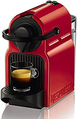 Krups Nespresso Inissia Rouge YY1531FD Independiente Máquina de ...