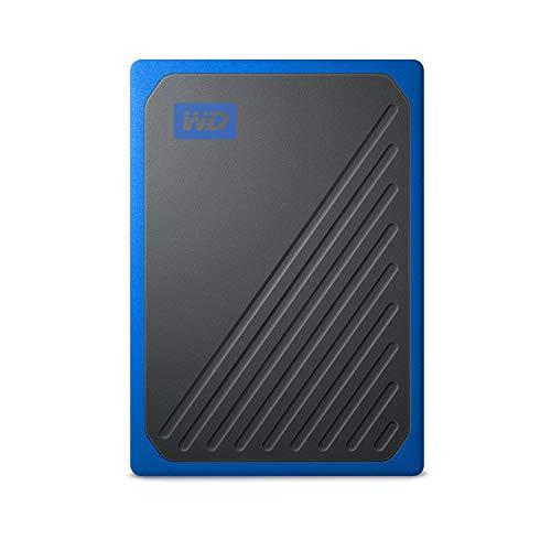 Western Digital-WESN WD My Passport Go SSD Portable External Storage, Cobalt 500GB WDBMCG5000ABT-WESN