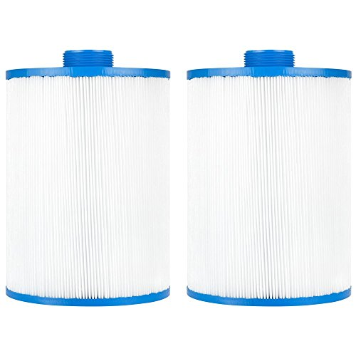 Clear Choice Pool Spa Filter 6.00 Dia x 7.63 in Cartridge Replacement for Artesian Spa Artesian Resort, [2-Pack]