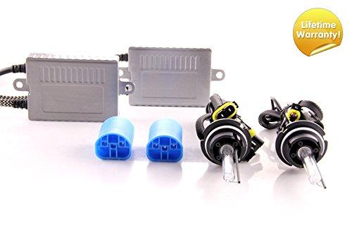 DDM Tuning Plus 35W Premium HID kit, Slim AC Ballasts w/Hi-Output Bulbs, 9004 / HB1 Low Beam, 6500K