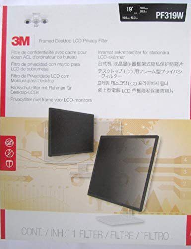 3M Privacy Filters PF319W3M Framed Privacy Filter for 19
