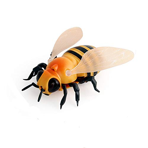 Animals Puzzle Zoo Shaped (Theshy Realistic Remote Control Bee Flies Insect Animal Trick Terrifying Toy LED Light Fun and Educational, for Toddlers and Preschoolers)