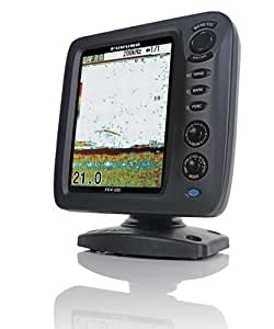 Furuno FCV587 Fishfinder with 8.4-Inch Color LCD, 600W/1kW Power, 50/200kHz and Bottom Discrimination, No Transducer