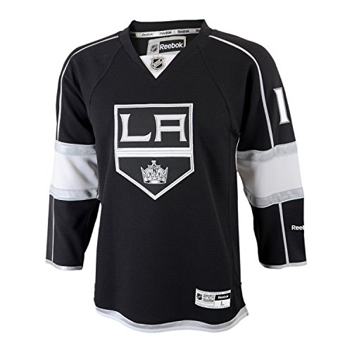 Outerstuff NHL NHL Kids & Youth Boys Team Color Player Replica Jersey, Black, Large/X-Large