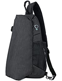 Men Pack Shoulder Bag Sling Bag Crossbody Bag for Outdoor Morning Jogging Cycling Biking Casual