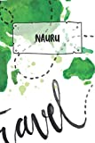 Nauru: Ruled Travel Diary Notebook or Journey  Journal - Lined Trip Pocketbook for Men and Women with Lines