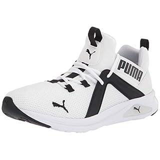 PUMA Men's Enzo 2 Sneaker, Black White, 8.5 M US