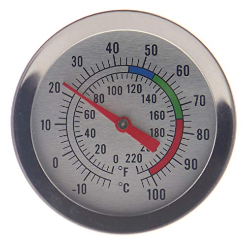 Candle Making Thermometer - Ideal Tool for Candle Makers for Melting Soy & Paraffin Wax - 300mm Stainless Steel Probe with Pan Clip Easy to Read Dial