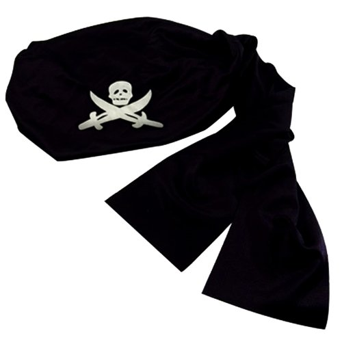 [Pirate Headwrap Bandana Hat] (Pirates Kids Costumes)