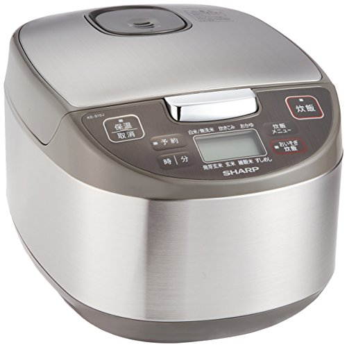 Sharp cooker microcomputer system 5.5 Go black Atsukama spherical cook Silver KS-S10J-S