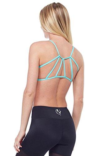 b3b88ede8b6e3 Luna Bralette-Balini Mint-Large (L) Womens Active Workout Aqua