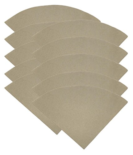 1000PK Compatible Replacement Unbleached Paper Coffee Filters For 6, 8 & 10 Cup Chemex-Brand Coffee Makers, by Think Crucial by Think Crucial