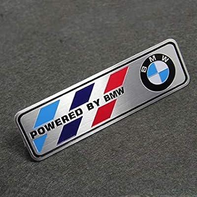 Motorsport Aluminum Body Side Emblem Sticker Decal Badge for BMW: Automotive [5Bkhe0104036]