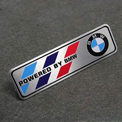 (Motorsport Aluminum Body Side Emblem Sticker Decal Badge for)
