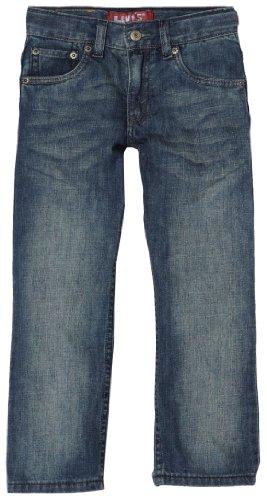 Levi's Little Boys' 505 Regular  Fit Jean, Traveler, 6