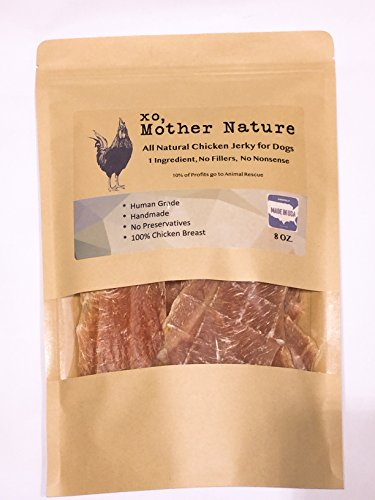 XO, Mother Nature All Natural Chicken Jerky for Dogs