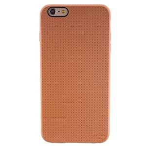 DD iPhone 6 Plus compatible Solid Color/Novelty/Mesh Case with Kickstand , Golden