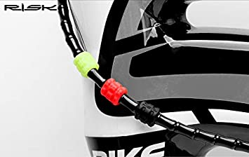 Pack of 10 Brake /& Shifter Outer Cables O Shape Protector Anti Scratch Your Bike Frame