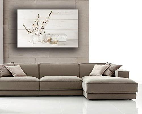 Quadro moderno Shabby Chic camera da letto Fiori Lavanda Candela - Quadri  Moderni Arte Cucina Soggiorno Salotto Bagno printerland.it (30x50 cm)