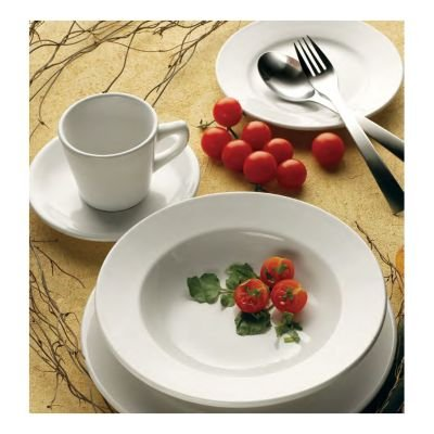 International Tableware DO-9 White Porcelain 9-3/4