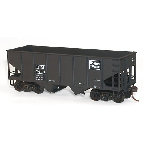 HO KIT USRA 55-Ton Twin Hopper, B&M
