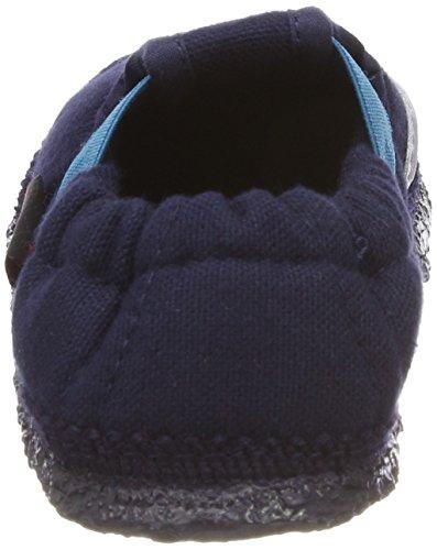 Giesswein Alland, Zapatillas de estar Por Casa Para Niños Azul (Dk.blau)