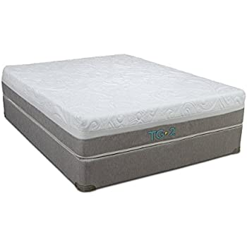 restonic tempagel foam denali mattress queen