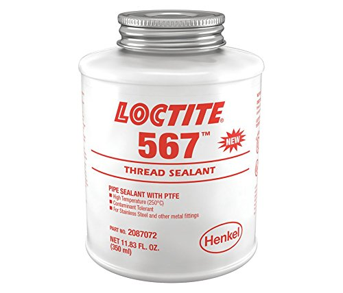 (Loctite 2087072 567 Thread Sealant Brush Top Can, 350 mL,)