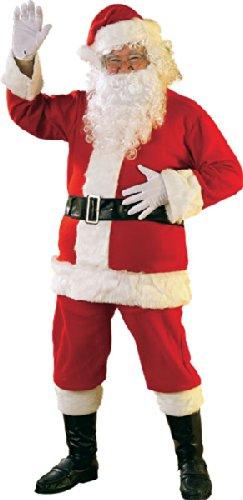 Classic Santa Suit Costume - XX-Large - Chest Size 52 (Regency Suit Santa)