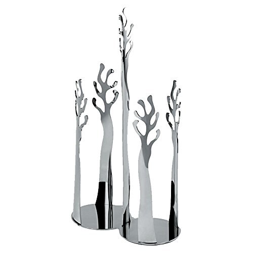 Alessi ESI19 Medit.Paper Cups Holder Medit Paper, Silver by Alessi