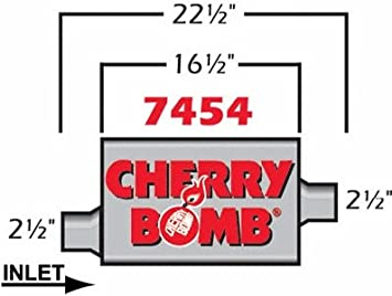 CHERRY BOMB 7454 Spark Plug Wire Set