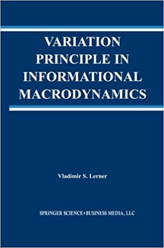 Variation Principle in Informational Macrodynamics (The